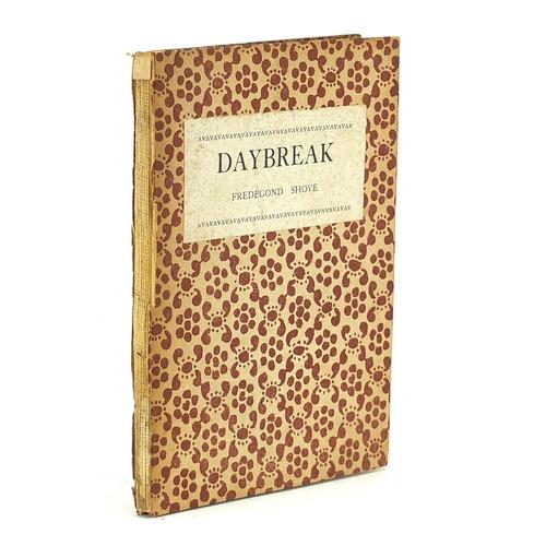 1565 - Daybreak by Fredegond Shove, hardback book published by Leonard and Virginia Woolf at the Hogarth Pr...