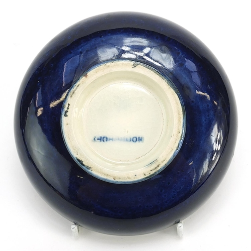 397 - Moorcroft pottery bowl hand painted with flowers, 13.5cm in diameter