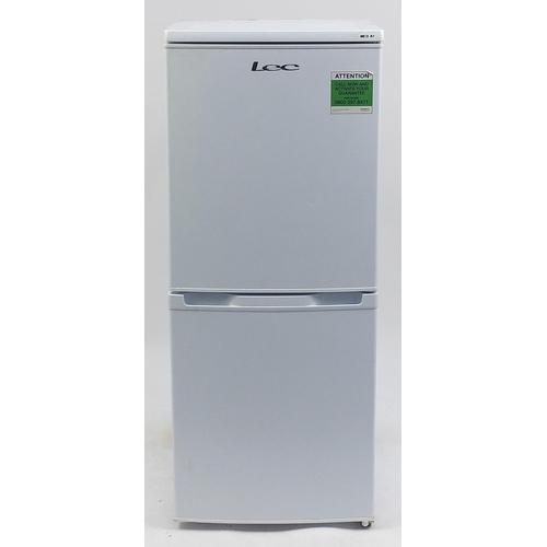 LEC fridge freezer, 122cm H x 50cm W x 53cm D