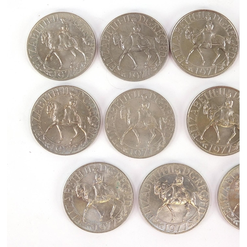 1089 - Collection of British commemorative crowns
