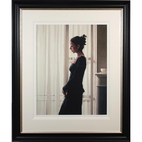 116 - Jack Vettriano - Beautiful Dreamer, pencil signed limited edition print in colour, numbered 248/495,...