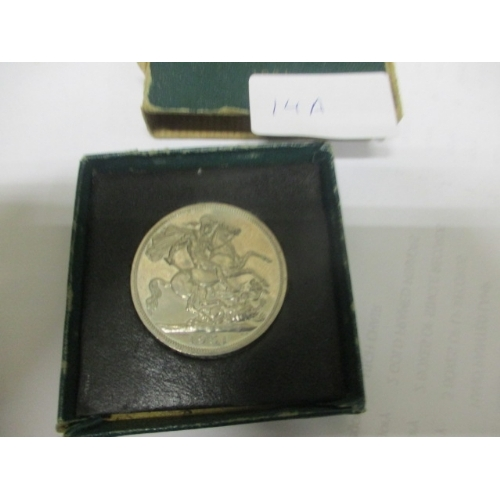14A - 1951 PROOF CROWN FESTIVAL OF BRITAIN...