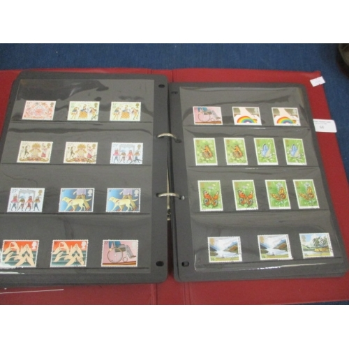 68 - ALBUM OF EARLY DECIMAL STAMPS...
