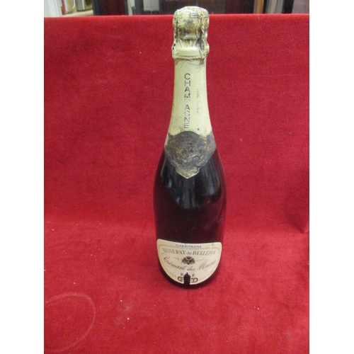 27 - BOTTLE OF CHAMPAGNE BESSERAT de BELLEFON...