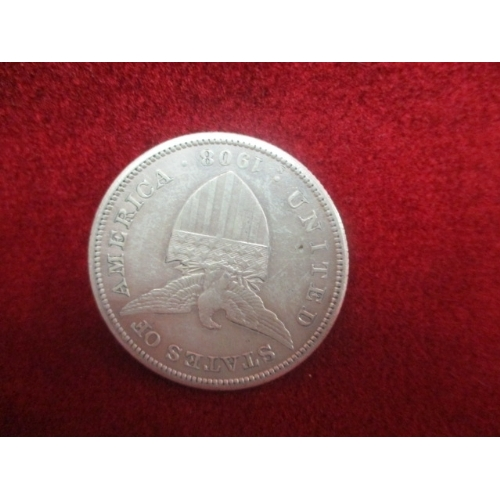 13 - SILVER 1908 USA ADMINISTRATION PHILIPPNES ONE PESO COIN SAN FRANCISCO, MINTED 26.95g...