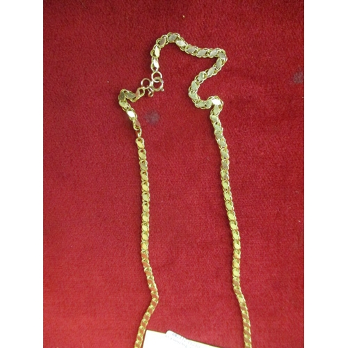 20B - 9ct GOLD NECKLACE 6.97g...