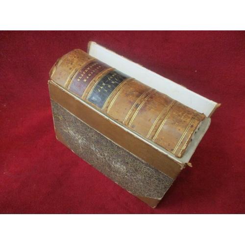 28 - ANTIQUE BLACKWOOD MAGAZINE HARDBACK BOOK JAN-JUNE 1897...