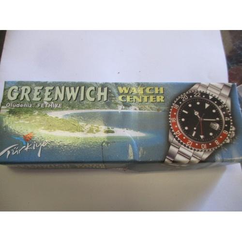 21 - GREENWICH  WATCH IN ORIGINAL BOX...