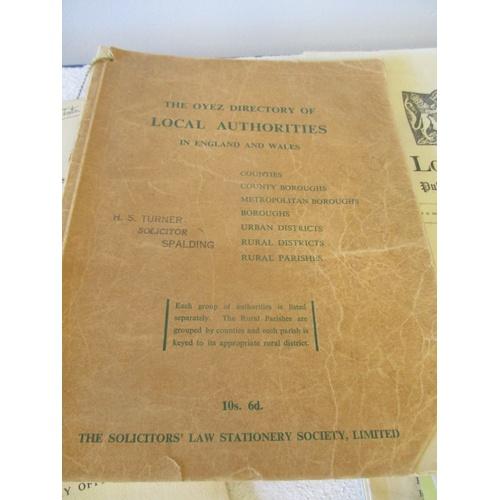 22 - SOLICITOR LONDON GAZETTE LAW BOOKS...