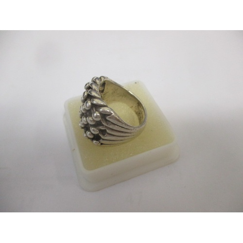 33 - GENTS 925 SILVER RING, 22g...