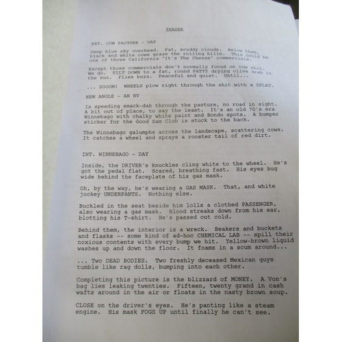 42 - A SIGNED SCRIPT FROM BREAKING BAD...