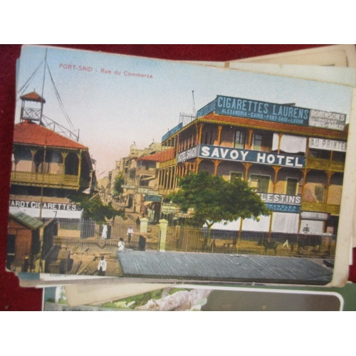 52 - COLLECTION OF OLD POSTCARDS...