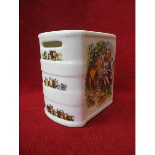3 - ROYAL DOULTON AND DISNEY FROM WINNIE THE POOH COLLECTION MONEY BOX...