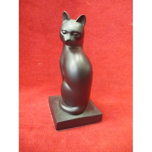 56 - CAT SCULPTURE ' ELEGANCE'  BY THE REVIVAL ART COMPANY...