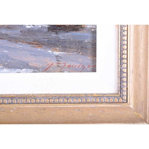 22 - † John Foulger (1942-2007) British 'Bosham, Sussex', oil on board, signed lower right corner, in a g...