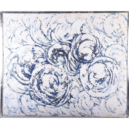 4 - Anthony Morton, (20th century contemporary), Abstract, oil on board, signed and dated 1983, 75.5cm x...