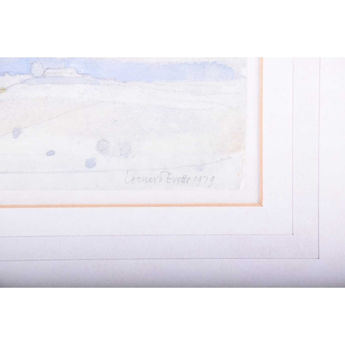 7 - Leonard Charles Evetts (1909 - 1997), 'Northumbrian Countryside', signed and dated 1979, watercolour...
