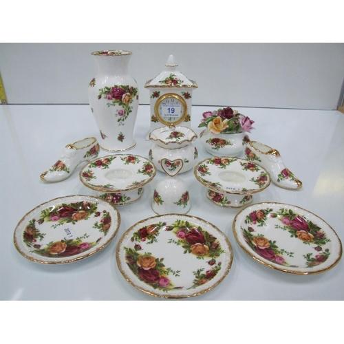 19 - Quantity royal albert china...