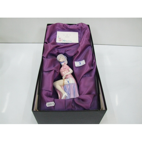 3 - boxed royal duolton figurine HARRIET...