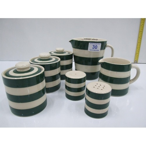 30 - Quantity T.G Greens Kitchenware...