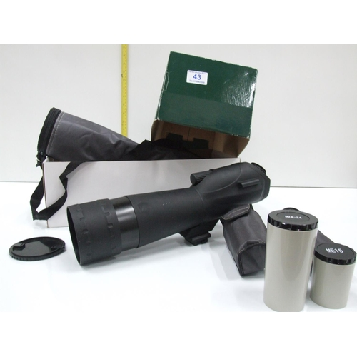 43 - Dawling & Rowe lens...