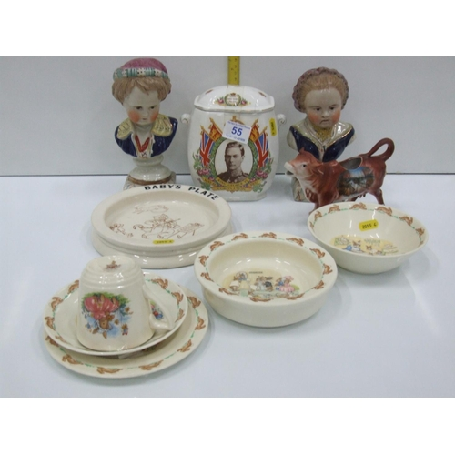 55 - Quantity of collectable china...