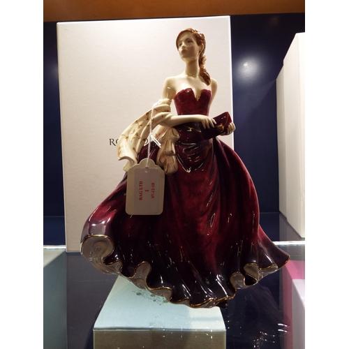 1 - A Royal Doulton Pretty Ladies figurine 'Happy Birthday 2010', boxed...