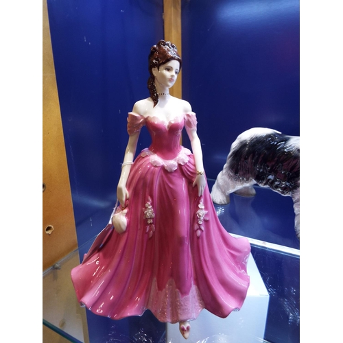 19 - A Coalport Ladies Of Fashion figurine 'Diane' modelled by Jack Glynn...