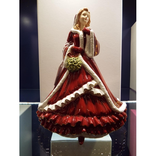 2 - A Royal Doulton Pretty Ladies figurine 'Christmas Day 2011 Christmas Wish', HN5429...
