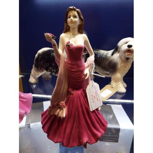 21 - A Coalport Ladies Of Fashion figurine 'Josephine'...