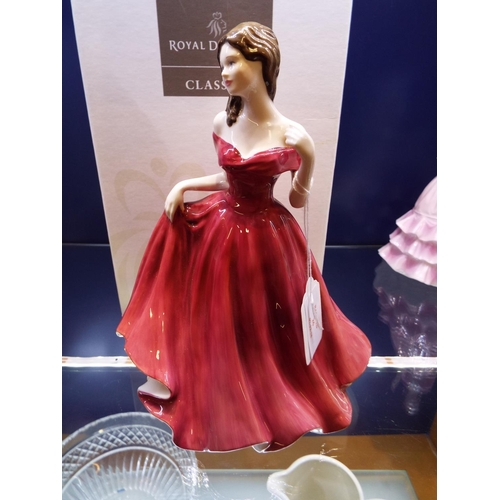 26 - A Royal Doulton figurine 'Jasmine', HN4431, boxed...