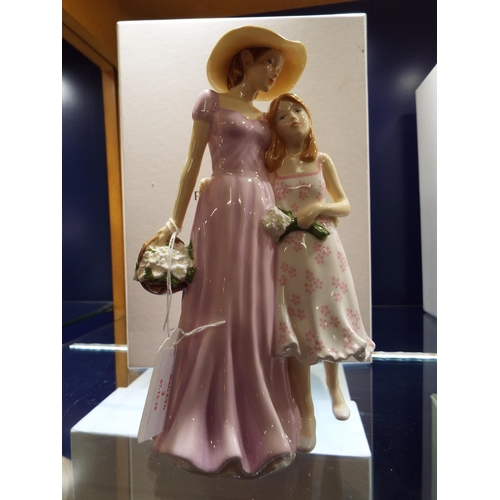 3 - A Royal Doulton figurine 'Togetherness' Mothers Figure of the Year 2013, HN5589, boxed...