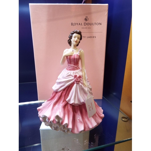 4 - A Royal Doulton Pretty Ladies figurine 'A Loving Touch Foy' HN5430, boxed...