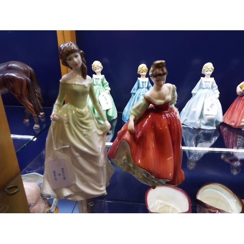 A Royal Doulton figurine 'Chloe' HN 3883 together with a Royal