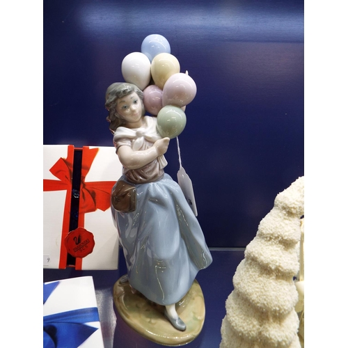 20 - A Lladro balloon girl, retired in 1996...
