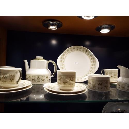 47 - A Royal Doulton 'Samarra' tea-set...