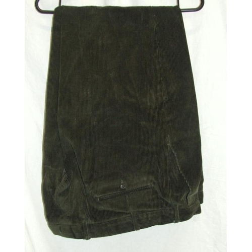 Gents Clothing Incl Austin Reed Gents Black Evening Dress Suit Glengarnock Of Scotland Green Cordu