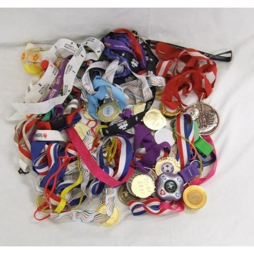 418 - Modern Medallions on ribbons & compassses...