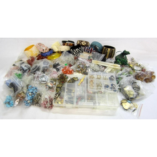 429 - Craft/Jewellery Making Items, beads, cameos etc....