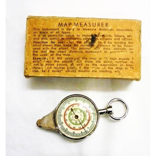 406 - Map Measuring Instrument in original box...
