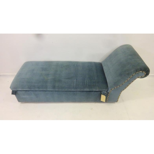 12 - Upholstered Day Bed with hinged cover, storage compartment under...