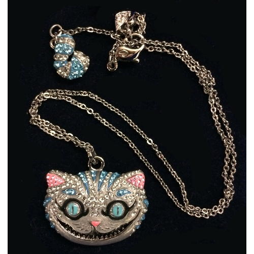061e140ec 201 - Swarovski Limited Edition Cheshire Cat Pendant 1054415, Retired, as  new with original