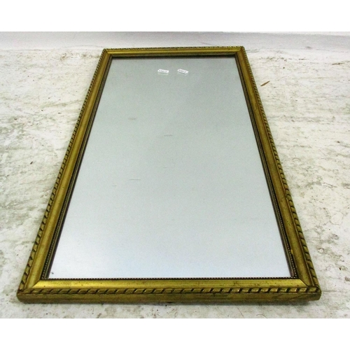 27 - Gilt Framed Rectangular Wall Mirror...
