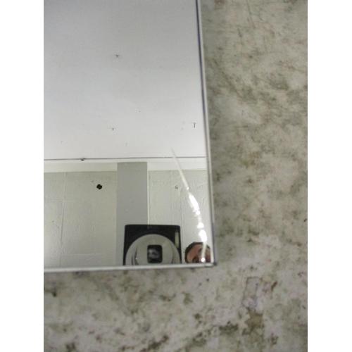 39 - Unframed Wall Mirror (A/f)...