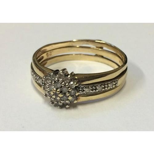 459 - 9ct. Gold Diamond