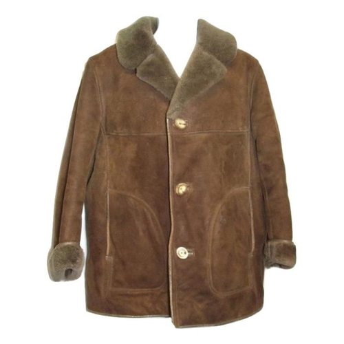 Mens Vintage Austin Reed Sheepskin Jacket