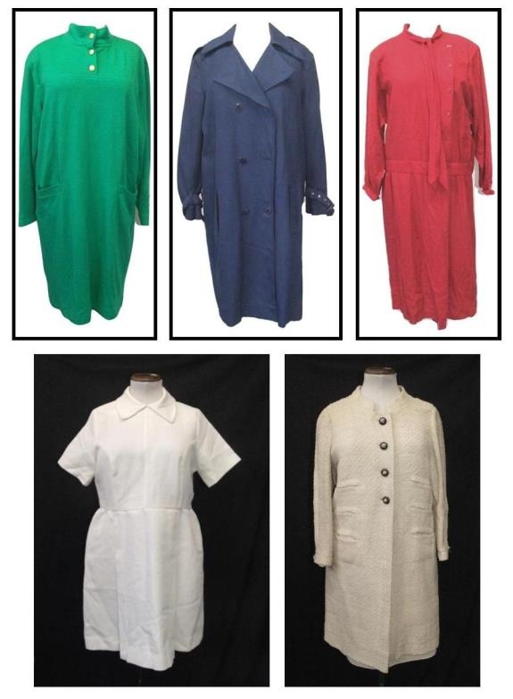 Ladies Vintage Dresses Austin Reed Options Red Wool Dress Trixi Schober Green Dress White Mini Dr