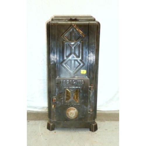2 - Ideal 160 Art Deco Enamelled Stove (A12/13B)...