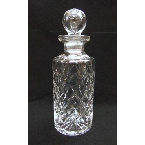 16 - Circular Cut Crystal Spirit Decanter  (CABINET 7)...