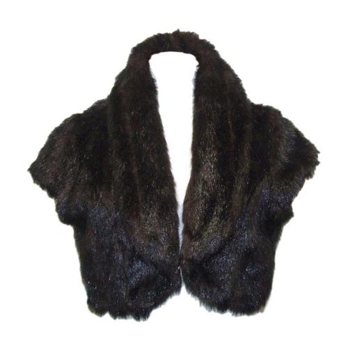 55 - Ladies Alibi Faux Fur Shrug/Jacket size 14...